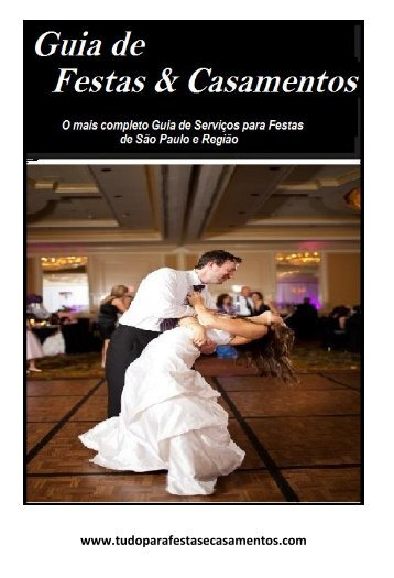 Guia de festas e casamentos Agosto/2017