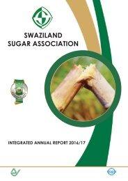 Swaziland Sugar Association Integrated Annual Report 2016/17