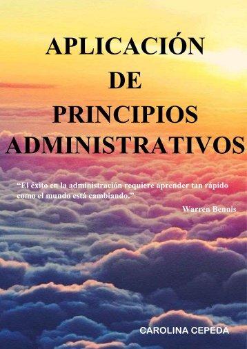 PORTAFOLIO DE ADMINISTRACIÓN