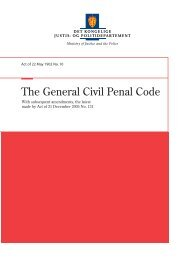 The General Civil Penal Code