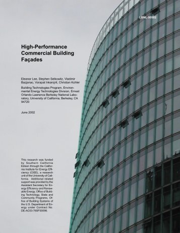 High-Performance Commercial Building Façades - BDA Home Page ...