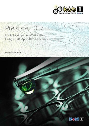 KÖB Preisliste2017 PVL