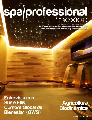 Spa & Wellness MexiCaribe 18, Verano 2015