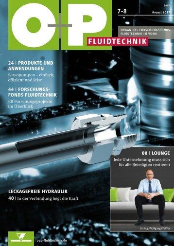 O+P Fluidtechnik 7-8/2017