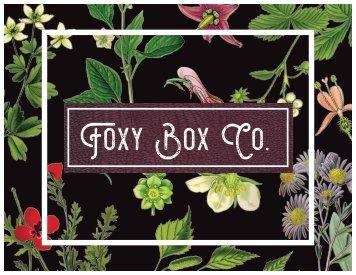 Foxy Box Co.