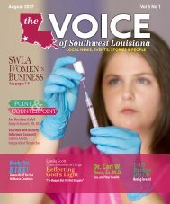 The Voice of Southwest Louisiana August 2017 Issue