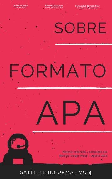 [04] SATÉLITE INFORMATIVO- Sobre el formato APA