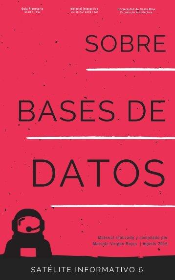 [06] SATÉLITE INFORMATIVO- Sobre las bases de datos