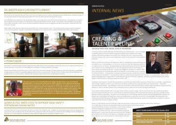 Sierra Rutile staff newsletter 6