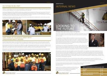 Sierra Rutile Ltd staff newsletter 7