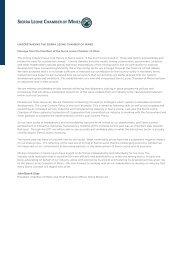 Sierra Leone Chamber of Mines Factsheet