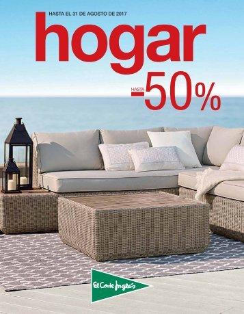 El Corte Inglés Hogar - 50% hasta 31 de Agosto 2017
