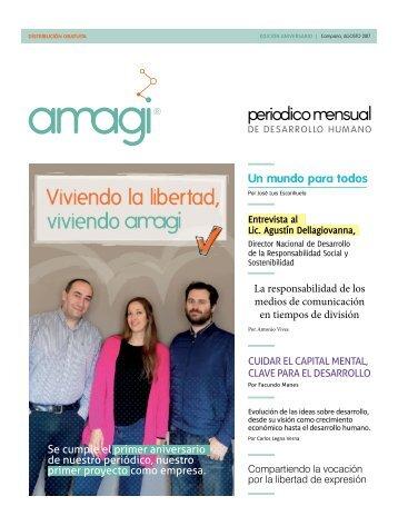 Periódico Amagi Desarrollo Humano, Agosto 2017