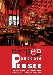 Dranken en Borrelhapjes Magazine - Bieren Danscafé Persee 2017