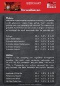 Dranken en Borrelhapjes Magazine - Bieren Danscafé Persee 2017 - Page 4