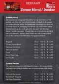 Dranken en Borrelhapjes Magazine - Bieren Danscafé Persee 2017 - Page 6