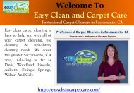 Folsom carpet cleaning