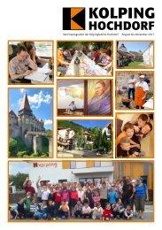 Programmheft Nr. 2/2017 der Kolpingfamilie Hochdorf