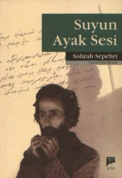 Sohrab Sepehri - Suyun Ayak Sesi (1)