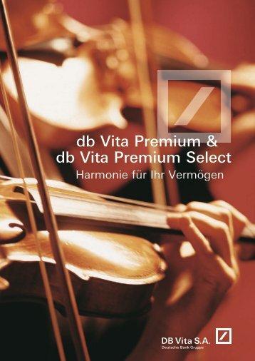 db Vita Premium & db Vita  Premium Select