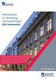 Immoselect Liquidation.indb - Fonds-Center-Kiel