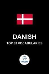 Danish Top 88 Vocabularies