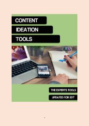 4 Content Ideation Tools