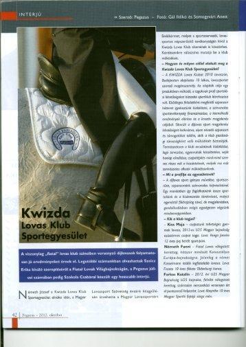 Lovas Klub Sportegyesület - Kwizda