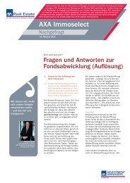 Fragen und Antworten - Fonds-Center-Kiel