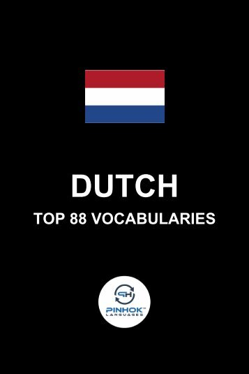 Dutch Top 88 Vocabularies