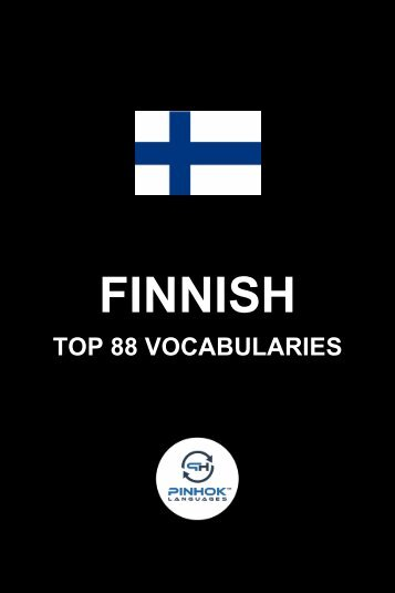 Finnish Top 88 Vocabularies