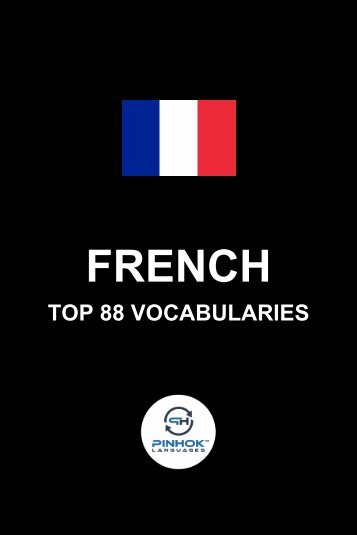 French Top 88 Vocabularies
