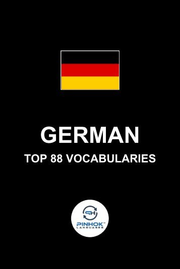 German Top 88 Vocabularies