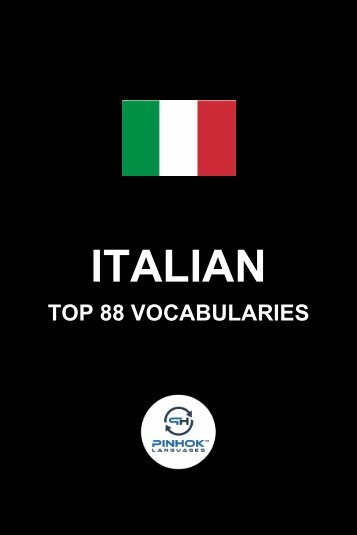 Italian Top 88 Vocabularies
