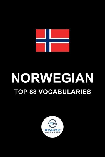 Norwegian Top 88 Vocabularies