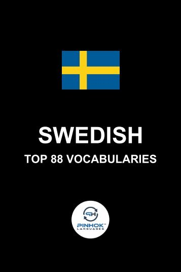 Swedish Top 88 Vocabularies