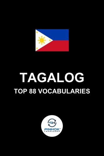 Tagalog Top 88 Vocabularies