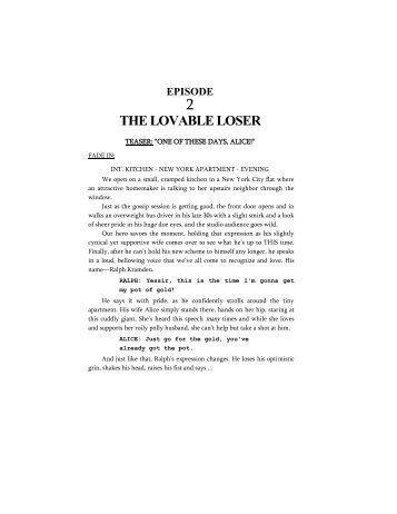 THE LOVABLE LOSER - Reelfilms