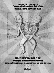 Freak show no século XXI - Mariana Morais
