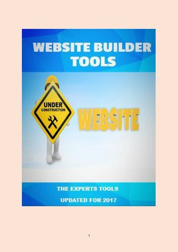 8 Website Builders Tools