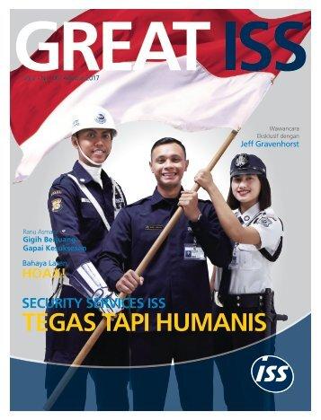 Majalah GREAT ISS Vol 2 No. 6 Agustus 2017