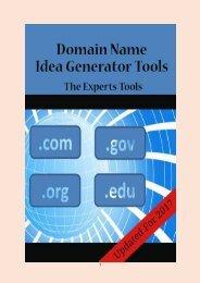 14 Domain Name Idea Generators Tools