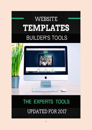 11 Website Template Builders