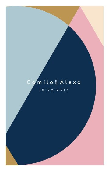 CAMILO & ALEXA'S INVITATION WEDDING