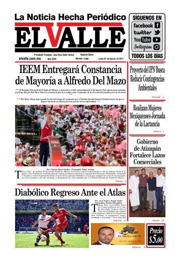 Edición del día Lunes 07 de Agosto