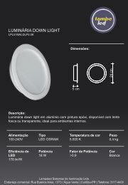 luminaria down light