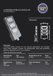 Luminaria Pública modular