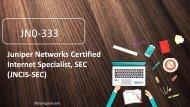 ExamGood JN0-333 Juniper Networks Specialist, SEC JNCIS-SEC exam braindumps questions