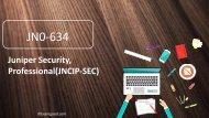 ExamGood JN0-634 Juniper Security, Professional(JNCIP-SEC) exam questions material