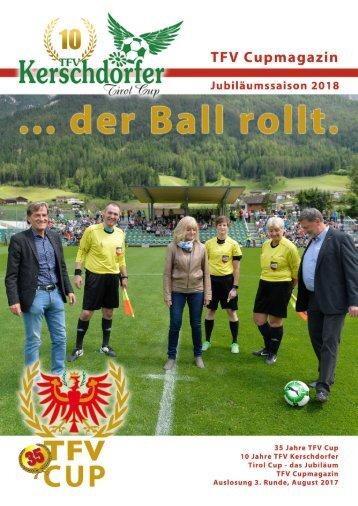 TFV Kerschdorfer Jubiläumssaison 2017/18: 3. Hauptrunde